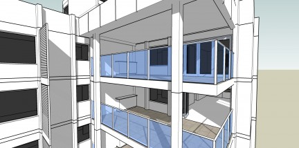 Proposed New Balconies - South Perth