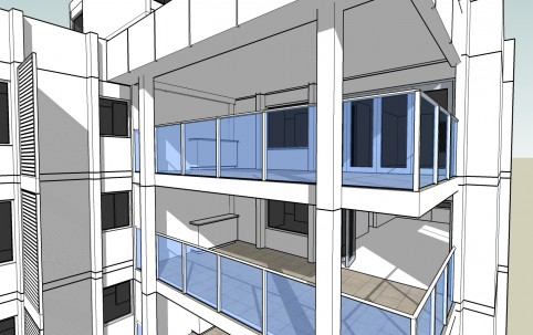 Proposed New Balconies – South Perth