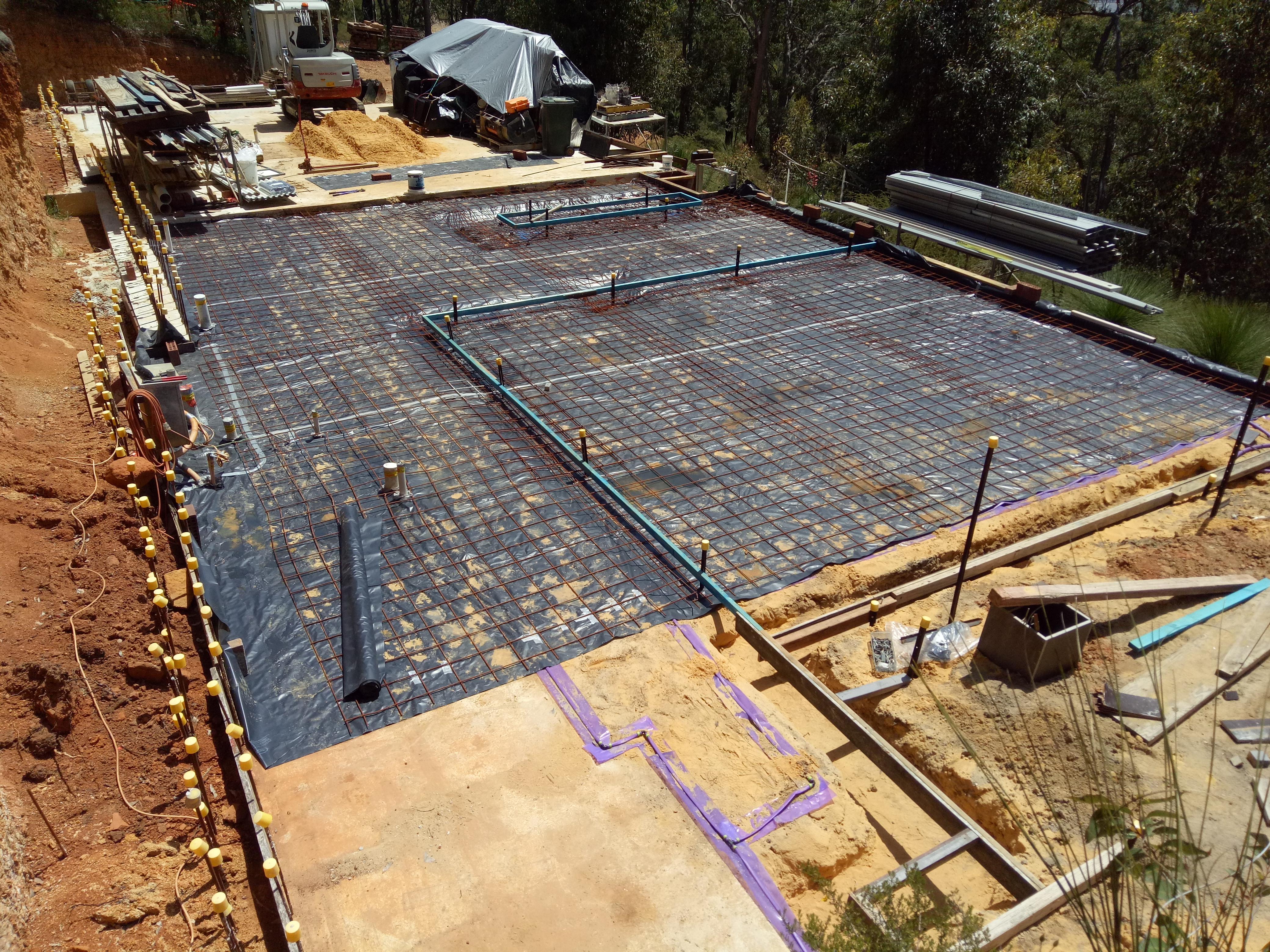 Kalamunda Residence Owner Builder Allan Davies