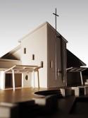 Chapel model - Frederick Irwin Anglican School