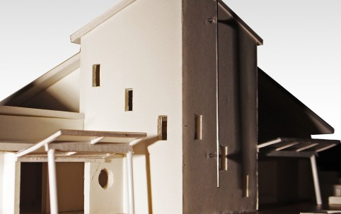 Chapel model – Frederick Irwin Anglican School